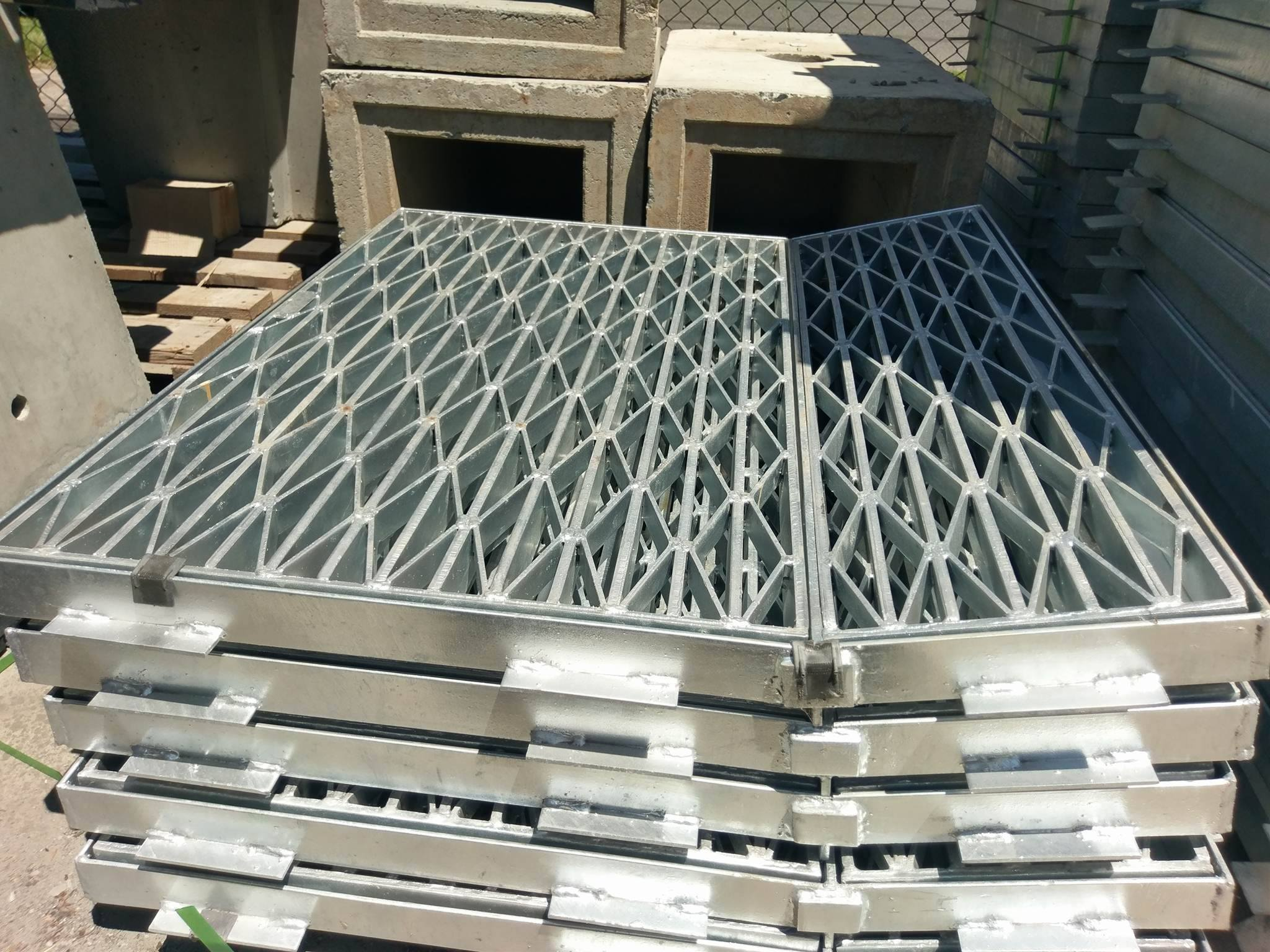 900x900 Galvanised Driveway Crossover Grate Amp Frame Heavy